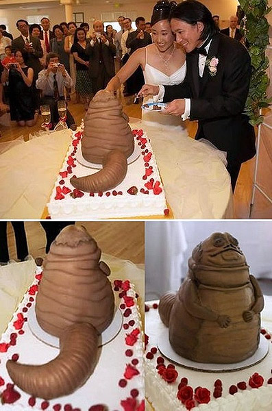 Weird Wedding Cakes