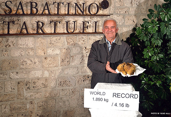 world record truffle