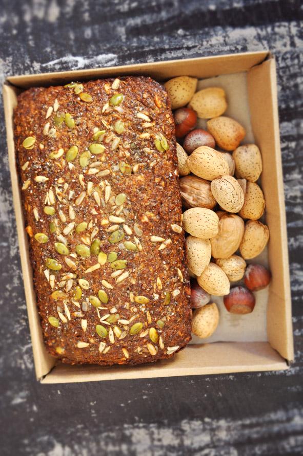 gluten free nut bread