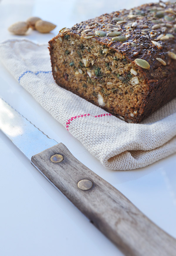 This nutty bread recipe is based on one published in an Australian ...