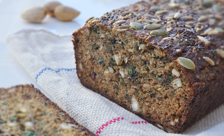pumpkin seed and nut bread