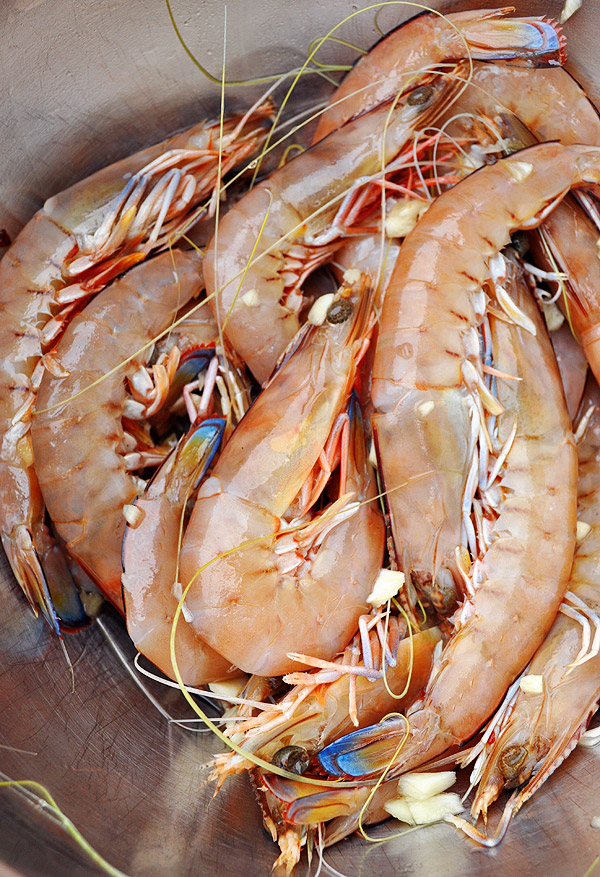 marinated prawns